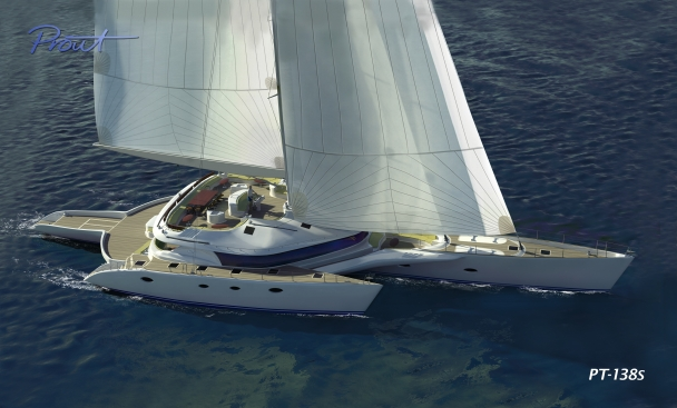 Super Luxury Trimaran Fleet to Set Sail with Flagship 262 Ft ...
