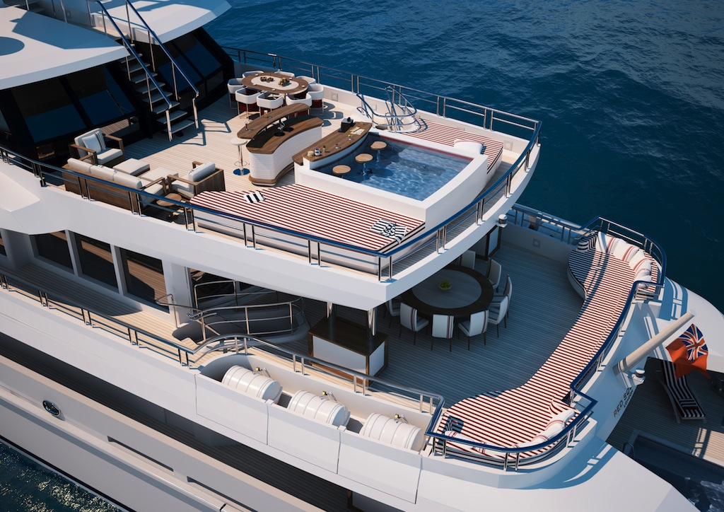 mega yacht red square from dunya yachts update yacht charter superyacht news. Black Bedroom Furniture Sets. Home Design Ideas