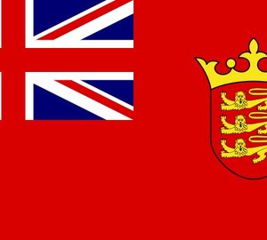 Jersey registered yachts to fly Defaced Red Ensign