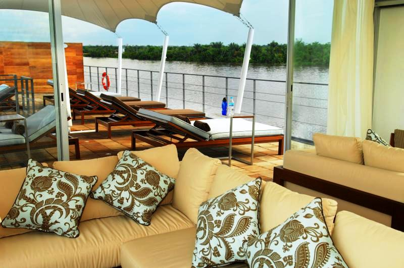 Motor Vessal Amizad: Luxury Motor Vessel ARIA And AQUA In The Mighty Amazon