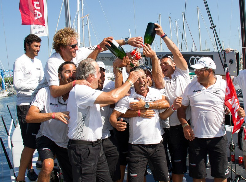 Artemis and madrid caser seguros win at the camper regatta conde de godo trophy barcelona - Caser seguros madrid ...