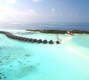 Superyachts visiting the Maldives benefit from Visa Changes.