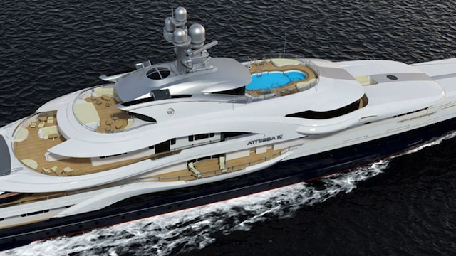 Super Yacht Attessa Iv To Be Unveiled In October Yacht Charter