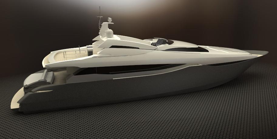 Peri 29 Yacht Series Rendering