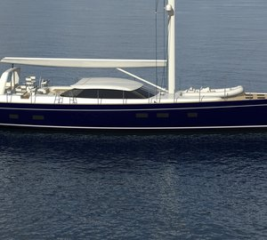 Project Meteor 100 by Dixon Yacht Designs