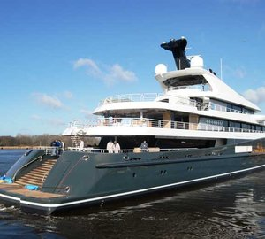 Super Yacht Phoenix 2 delivered to her Owner