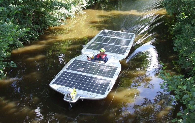 Vripack Solar Boat - Sunny Side Up II