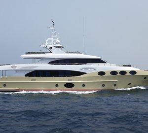 Gulf Craft MAJESTY 125 Yacht Launched