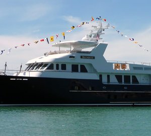 Inace super yacht BOUNDLESS launched