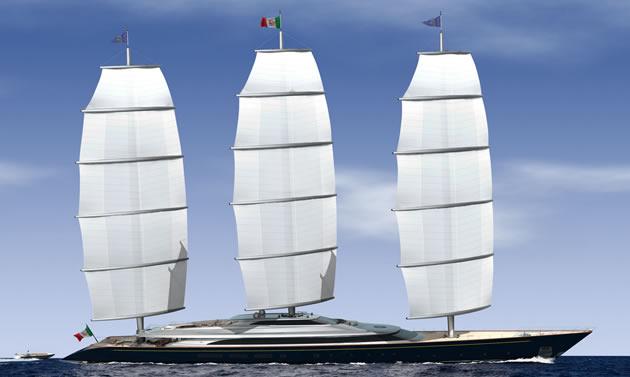 The Original Maltese Falcon Rig Concept