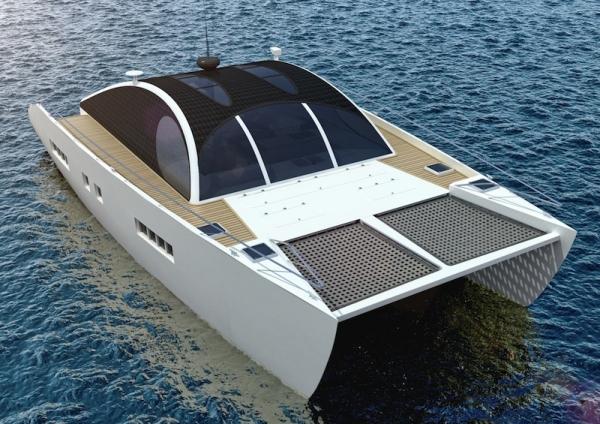 The Marvin 50 Eco Sustainable Motor Cruising Catamaran