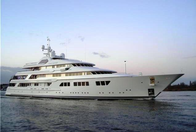 The Musashi yacht was built by De Vries Makkum and here is the Feadship XL Motor Yacht Ocean Victory which is the  first hull in that line