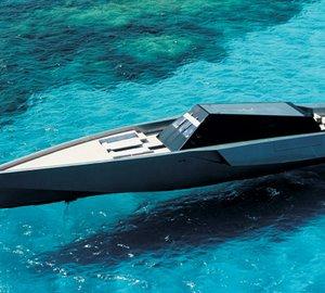Superyacht Wally 118 Car Concept
