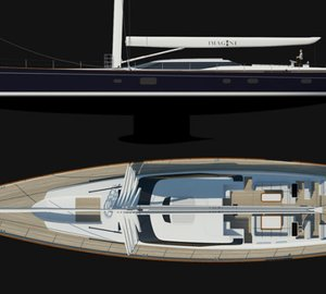 Super Sailing Yacht IMAGINE II (AY40) by Alloy Yachts Sails!