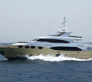 Majesty 125 Yacht sold and available for charter