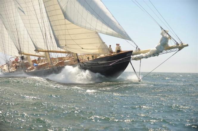 Sailing Yacht Atlantic - Photo credit to Kees Stuip