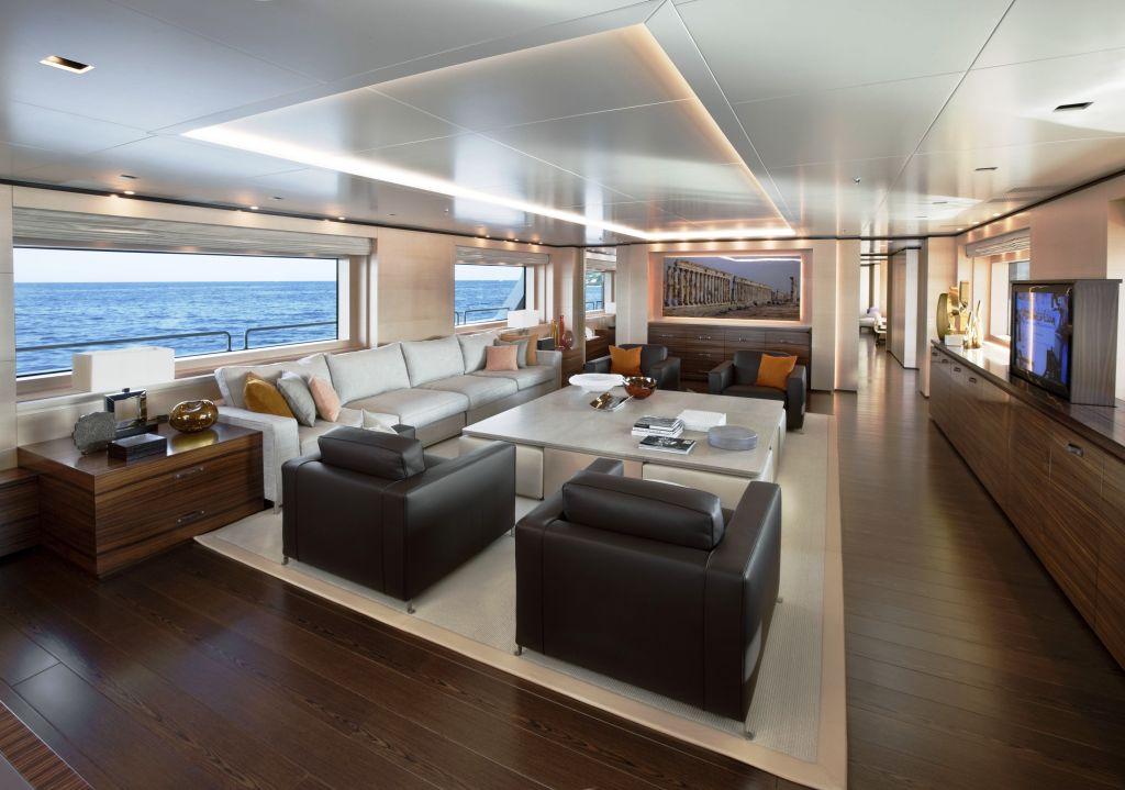 Sanlorenzo S First Steel Meacht The 46 Super Yacht