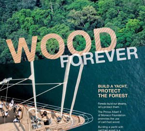 Prince Albert II of Monaco Foundation launched WOOD FOREVER
