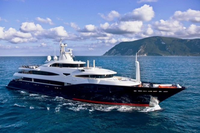 CRN 60m Superyacht 'Blue Eyes' - Photo Credit Ferretti Group