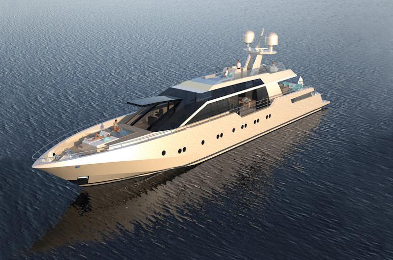 Espen Oeino designed AeroCruiser 38 F III superyacht ...  Espen Oeino des...