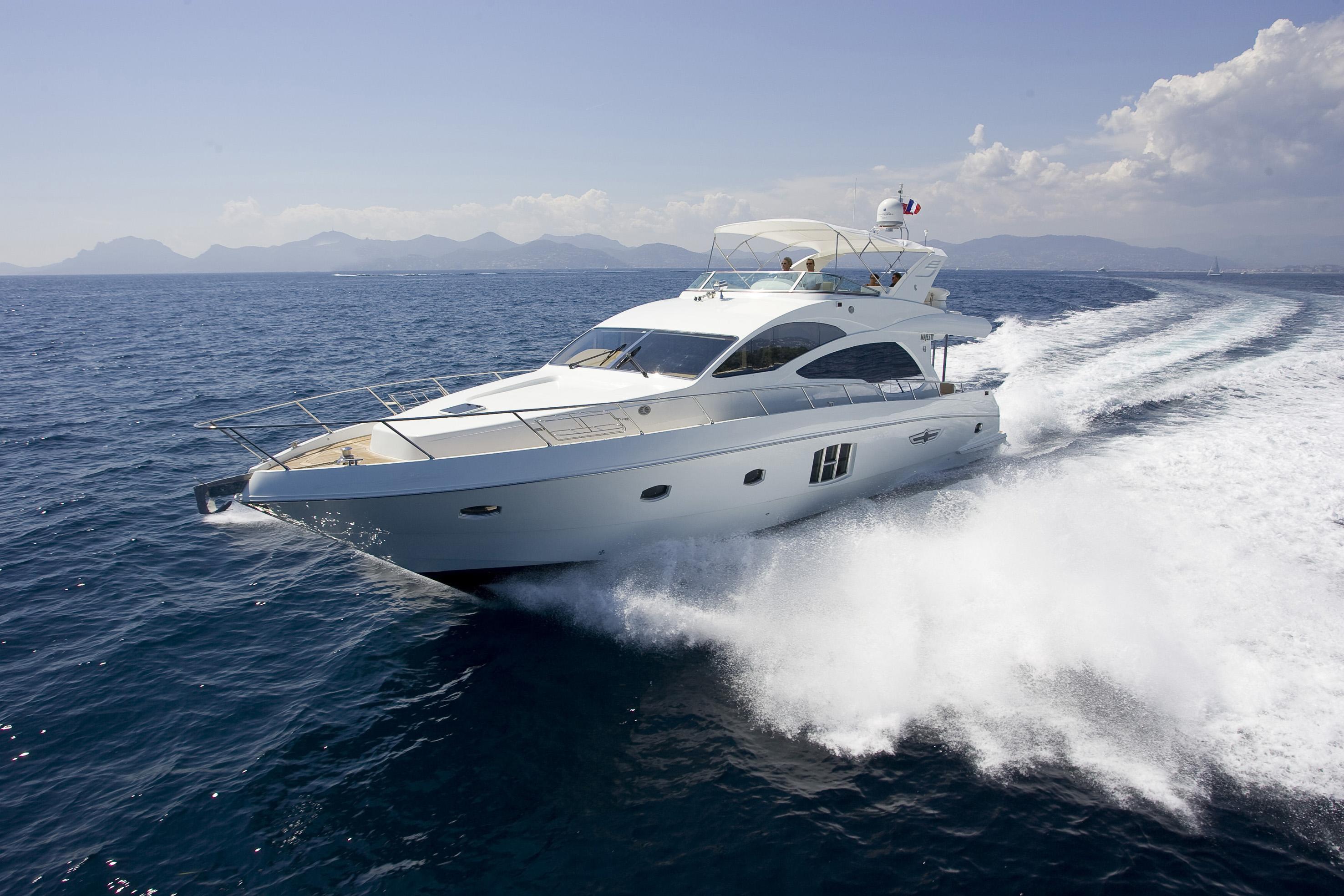 Majesty 63 Motor Yacht Yacht Charter Amp Superyacht News