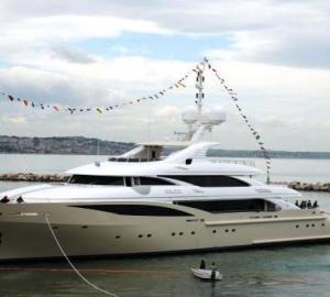 ISA 630 Superyacht Kolaha's interior by Patrick Knowles Design
