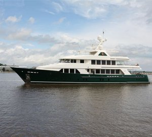 Motor yacht SEA OWL departs on delivery voyage