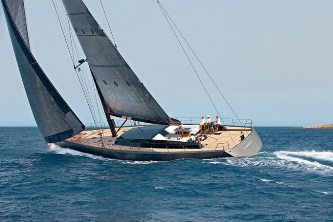 Sailing yacht Chrisco Photo Credit Nicolas Claris