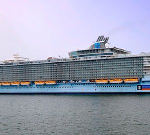 World's largest cruise ship, Allure of the Seas delivered