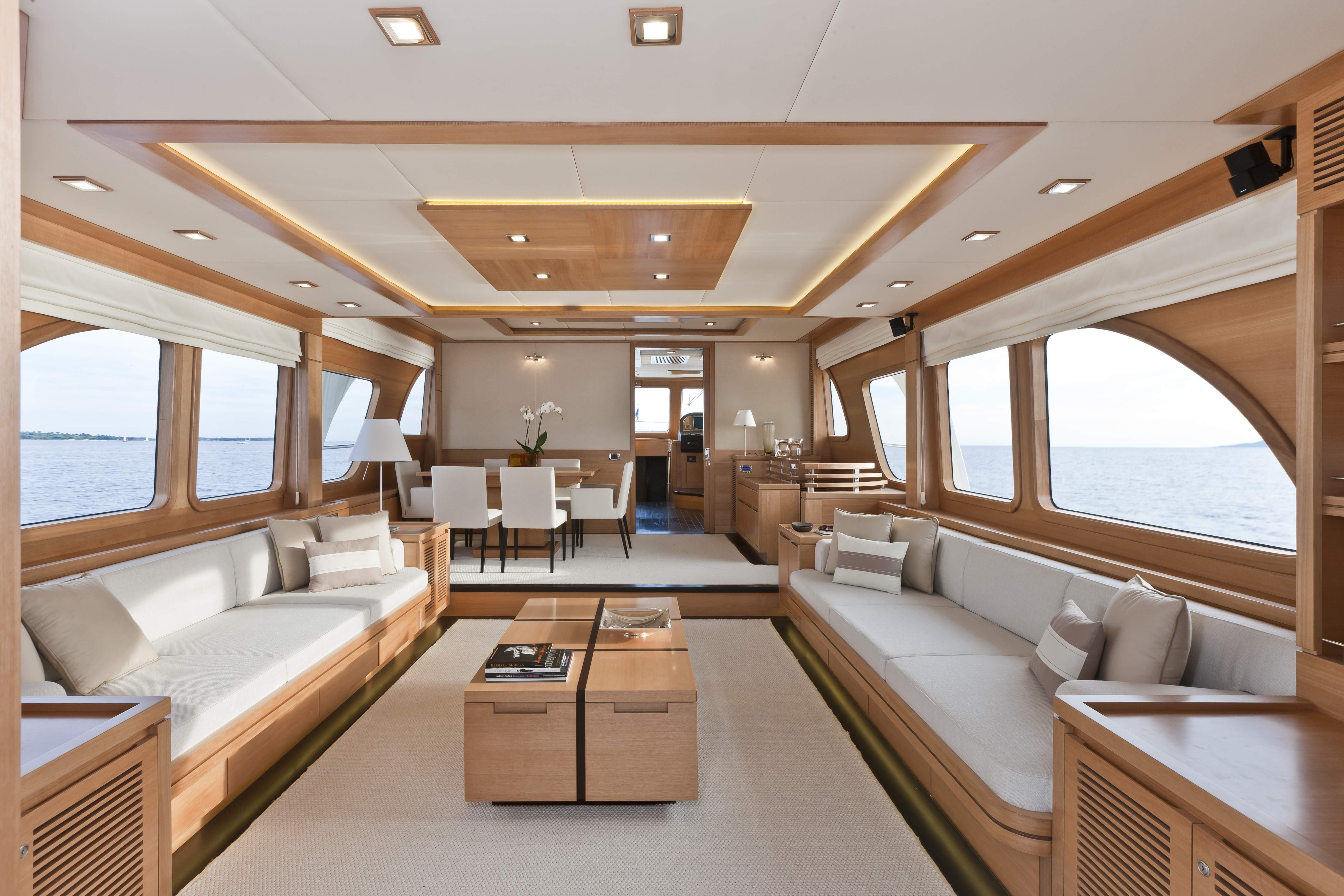 Vicem 78 Cruiser Interior Yacht Charter Superyacht News