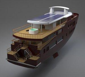 43m Green Concept Design Yacht 006 Interior by Splinakis Ship Design & Jiwon Sung