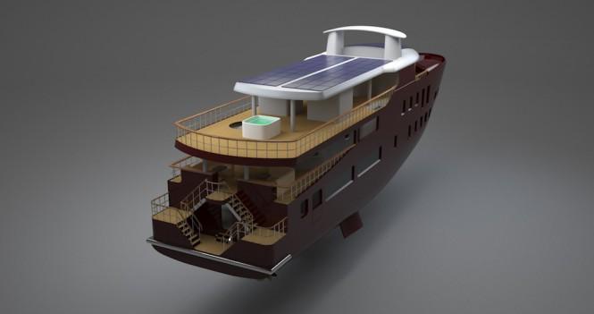 43m Green Concept Design Yacht 006 Interior By Splinakis Ship Design Jiwon Sung Yacht Charter Superyacht News