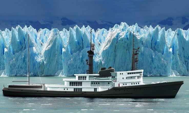 77.4-metre ocean-going tug into an explorer-style yacht conversion