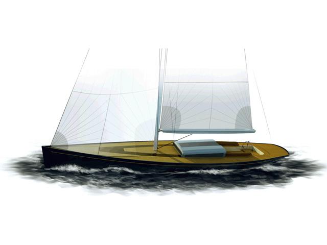 Frers 88 sailing yacht Tulip