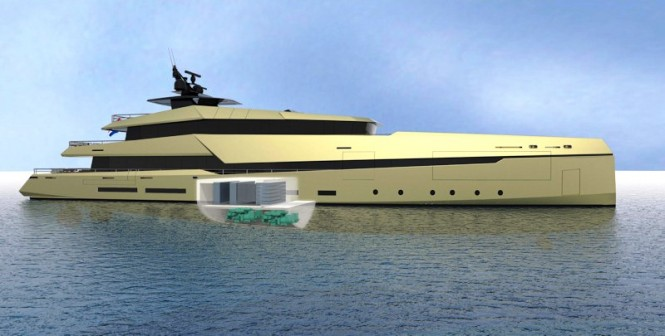 Ghost G180 hybrid superyacht by Ghost Yachts