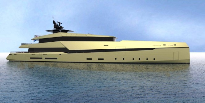Ghost Yachts' Ghost G180 hybrid superyacht