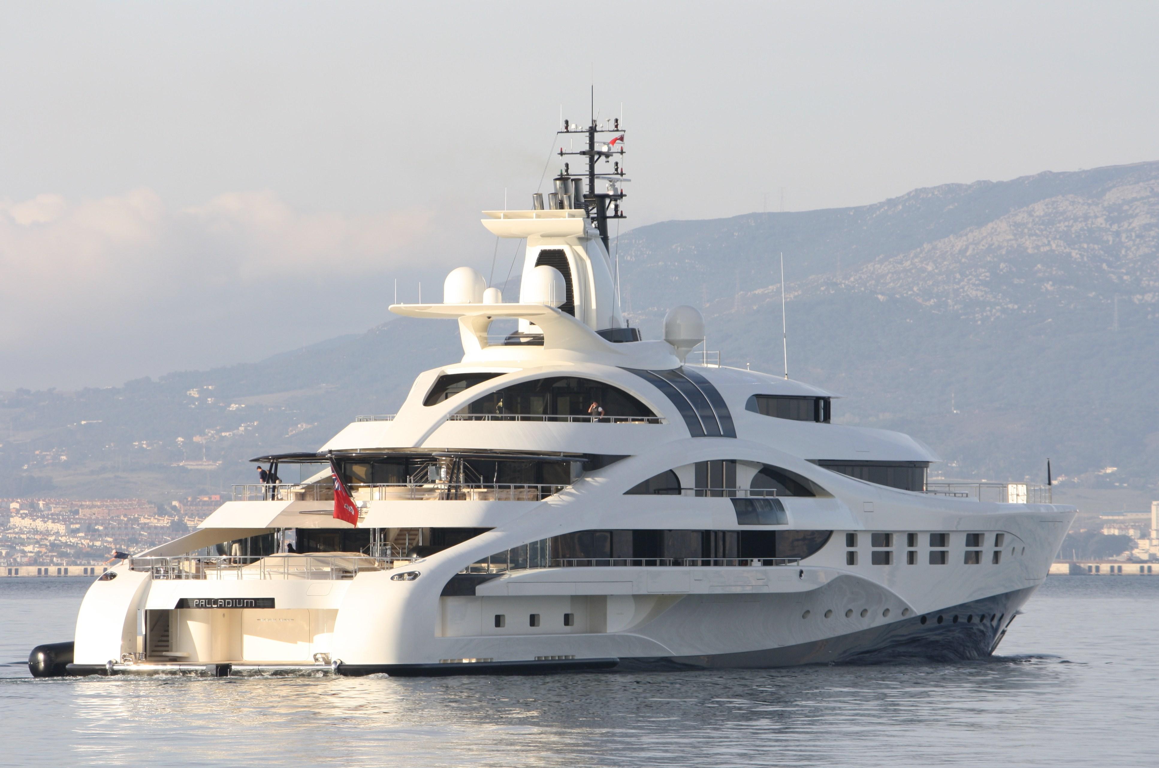 Yacht Crew Luxembourg: Luxury Yacht Palladium In Gibraltar