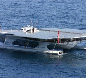 TÛRANOR PlanetSolar Catamaran's Record Transatlantic Crossing