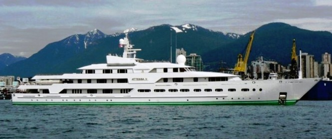 Yacht Attessa IV - The Before Photo