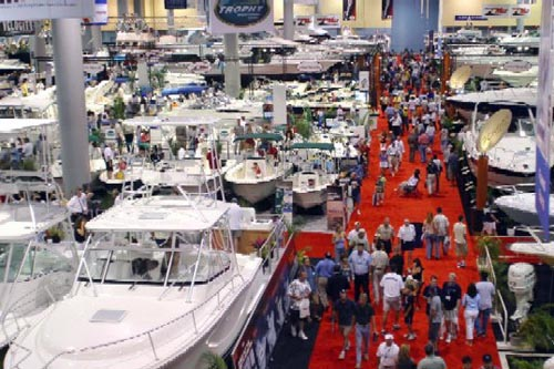 Miami International Boat Show Convention Center 2010