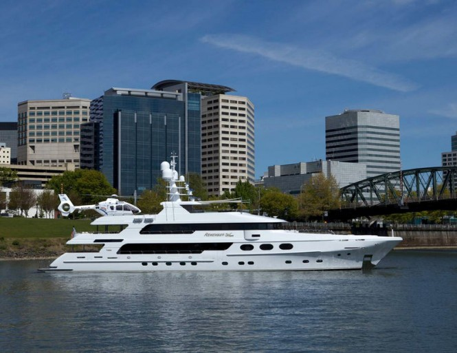 Motor yacht Remember When by Christensen Shipyards