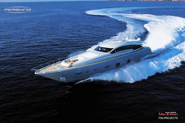 Pershing 108 Motor Yacht Nominated for Asia Boating Awards 2011