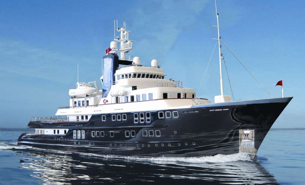 60m Expedition Yacht Concept by Derecktor and Vripack