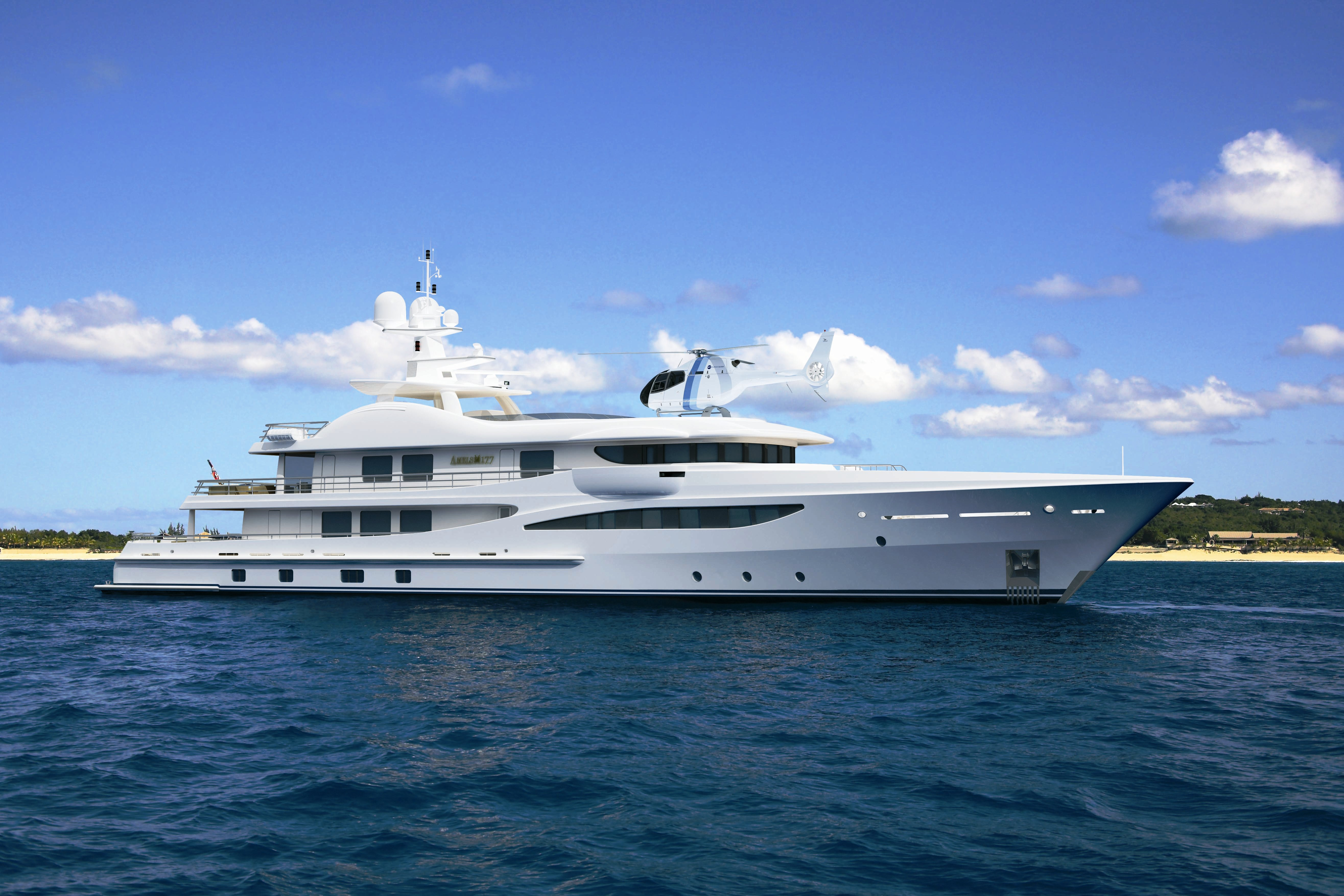 Lantic to supply entertainment systems for five new Amels LIMITED EDITIONS 177 Superyachts
