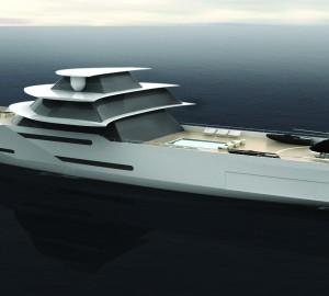 112m Superyacht Centurion Design by Sigmund Yacht Design