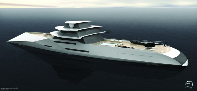 112m Superyacht Centurion Design by Sigmund Yacht Design