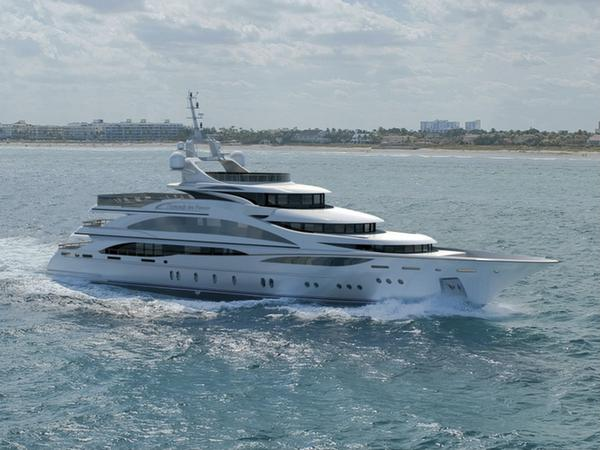 Superyacht Diamonds Are Forever By Benetti Takes To The Water