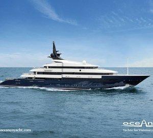 86m Motor Yacht SEVEN SEAS by Oceanco