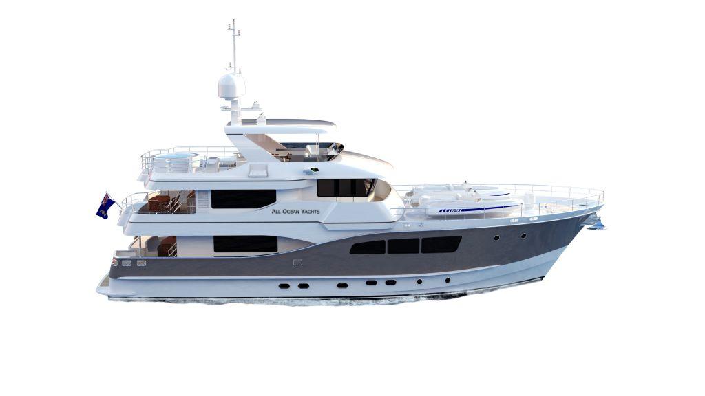Explorer Motor Yacht by All Ocean Yachts and Luiz de Basto designs