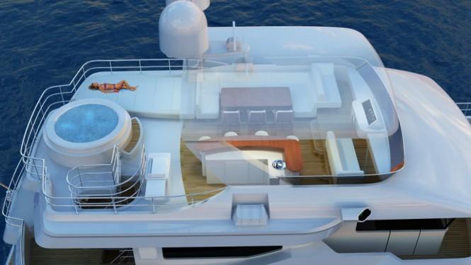 90ft Explorer Motor Yacht Flybridge by All Ocean Yachts and Luiz de Basto designs